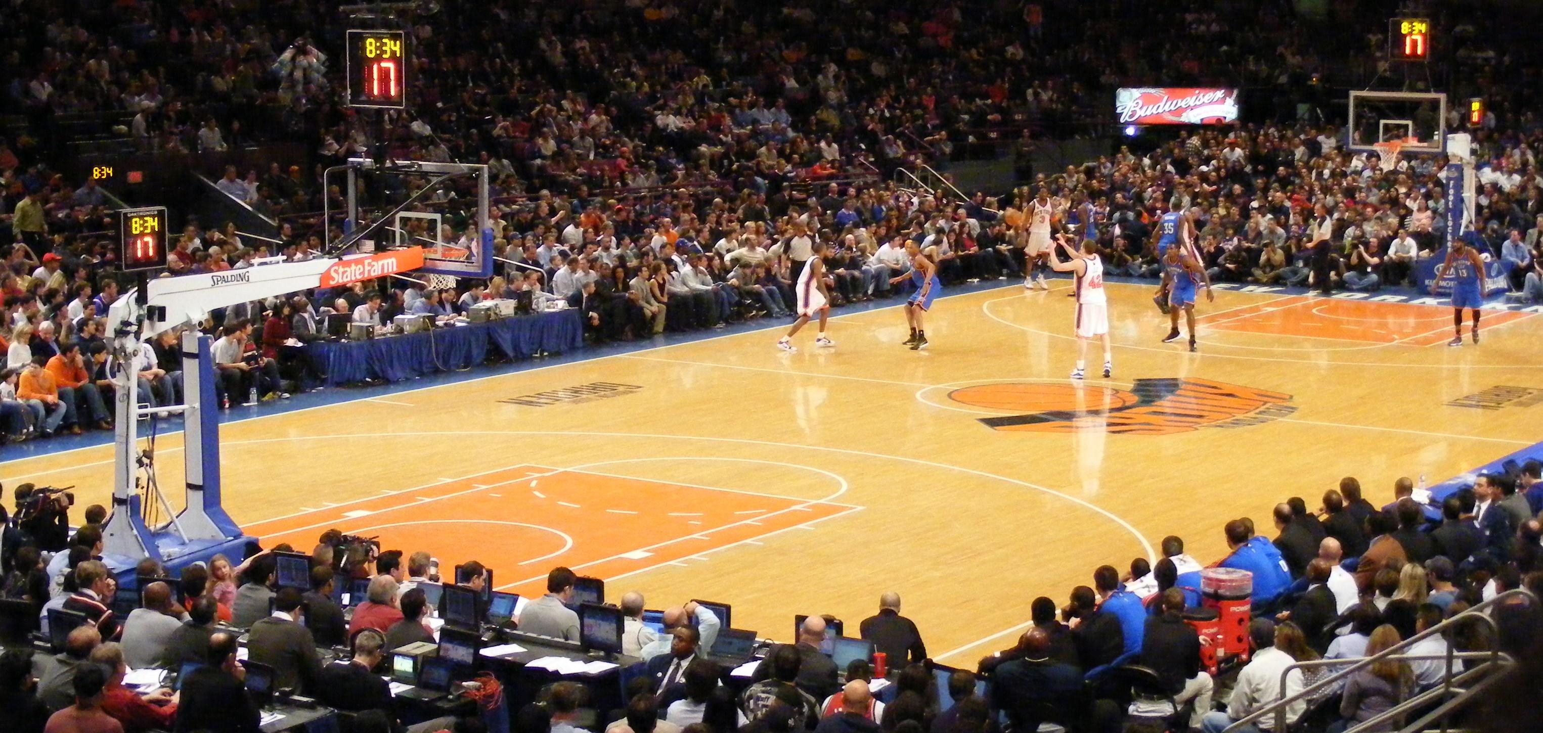 Blog Archive New York Toujours Fan De Ses Knicks